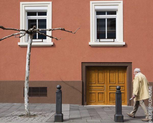 Door detail, Riedisheim, France. 2012