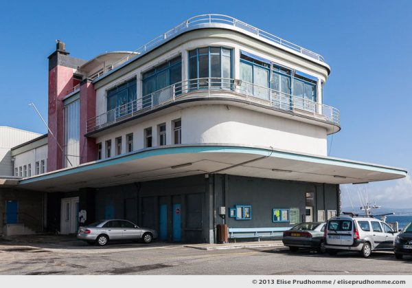 Art Deco-style fish market of Port Rosmeur, Douarnenez in Brittany, France, 2013 by Elise Prudhomme