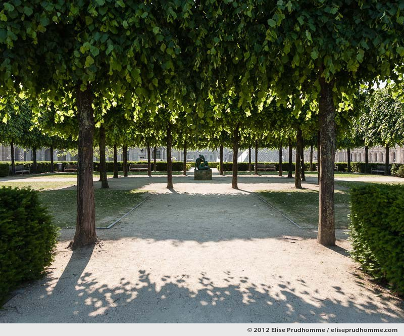 Mediterranée or Mediterranean, Tuileries Garden, Paris, France, 2012 (part of the series Yours, Mine, Le Nôtre's) by Elise Prudhomme