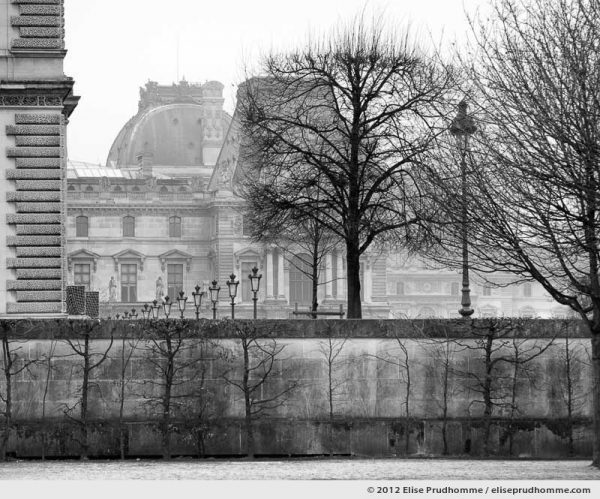 Ombre royale or Royal Shadow, Tuileries Garden, Paris, France, 2011 (part of the series Yours, Mine, Le Nôtre's) by Elise Prudhomme.