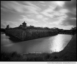Fort de la Hougue, Saint-Vaast-la-Hougue, France. 2014 (series Sands of Time) by Elise Prudhomme.