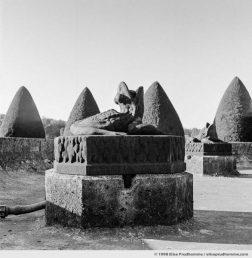 Fountain detail, Vaux-le-Vicomte Castle and Garden, Maincy, France. 1998 (series Yours, Mine, Le Nôtre's) by Elise Prudhomme.
