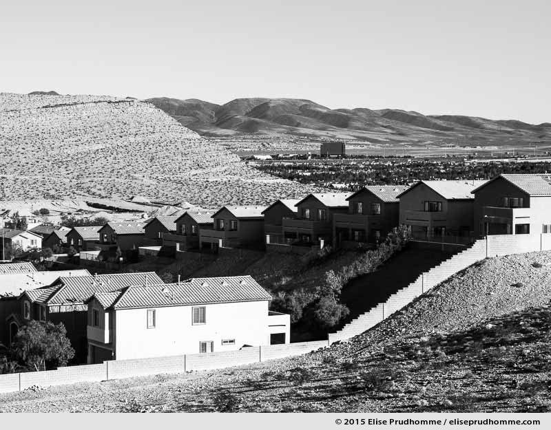 Homage to Lewis Baltz, Las Vegas, Nevada, USA, 2015 (series Wild Wild West) by Elise Prudhomme.