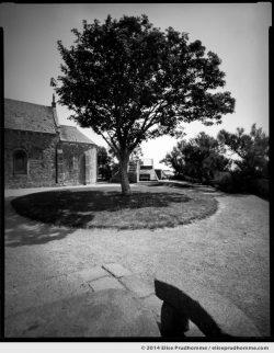 La Chapelle des Marins, Saint-Vaast-la-Hougue, France. 2014 (series Sands of Time) by Elise Prudhomme.