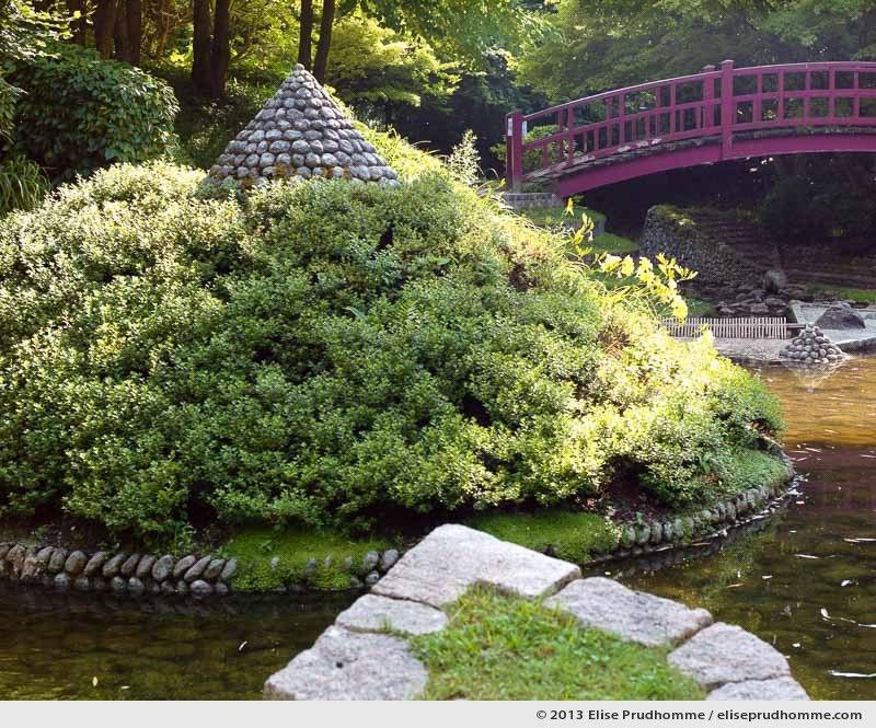 Modern Japanese Garden #4, Albert Kahn Garden, Boulogne-Billancourt, France, 2013 by Elise Prudhomme.