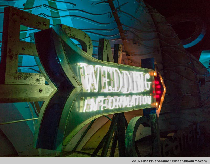 Fast Track, Neon Boneyard & Museum, Las Vegas, Nevada, USA, 2015 (series Wild Wild West) by Elise Prudhomme.