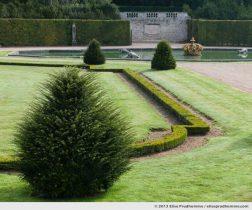 Parterre de la Couronne, Study 2, Vaux-le-Vicomte Castle and Garden, Maincy, France. 2013 (series Yours, Mine, Le Nôtre's) by Elise Prudhomme.