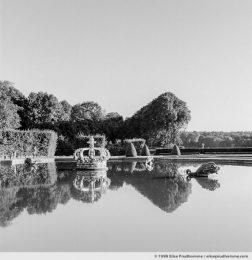 Parterre de la Couronne, Study 1, Vaux-le-Vicomte Castle and Garden, Maincy, France. 1998 (series Yours, Mine, Le Nôtre's) by Elise Prudhomme.