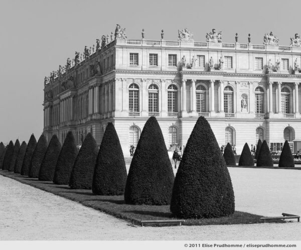 Revue, Versailles Chateau Garden, France, 2011 (part of the series Yours, Mine, Le Nôtre's) by Elise Prudhomme.