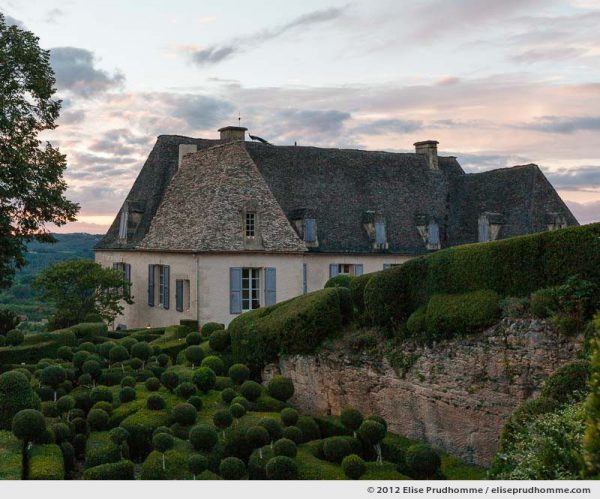 The Manor, The Suspended Gardens of Marqueyssac, Vezac, France (series Notable Gardens of France) by Elise Prudhomme.