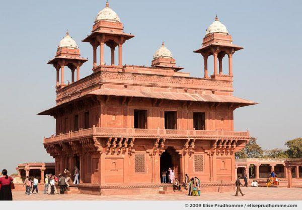 Diwan-i-Khas, the Hall of Private Audience, Fatehpur Sikri Palace Complex, Uttar Pradesh, India