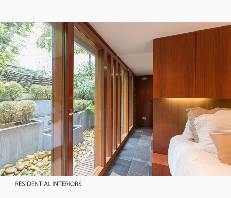 Selected photographs of residential interiors in the Architecture Portfolio of Elise Prudhomme