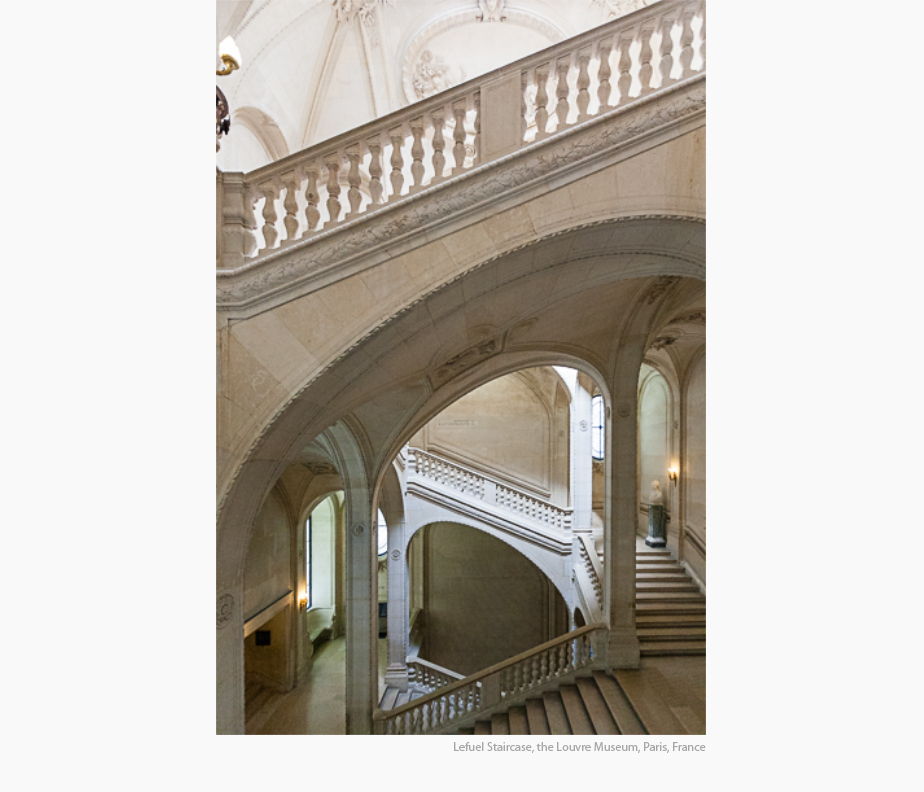 Selected photographs of commercial and institutional interiors in the Architecture Portfolio of Elise Prudhomme
