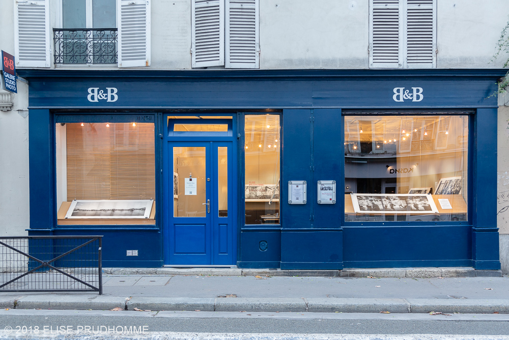 """Images taken at opening night of the photography exhibition """"Lieux-dits"""" by Elise Prudhomme at Studio Galerie B&B in Paris, France."""