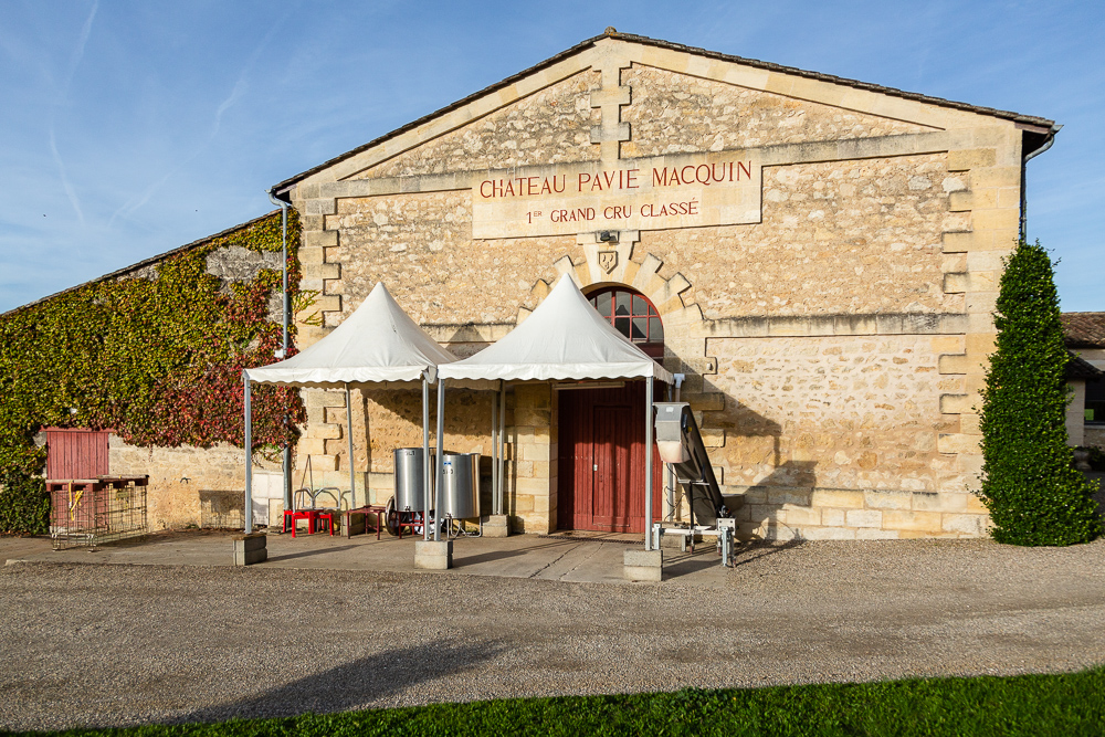 Chai-Chateau-Pavie-Macquin-Saint-Emilion-France